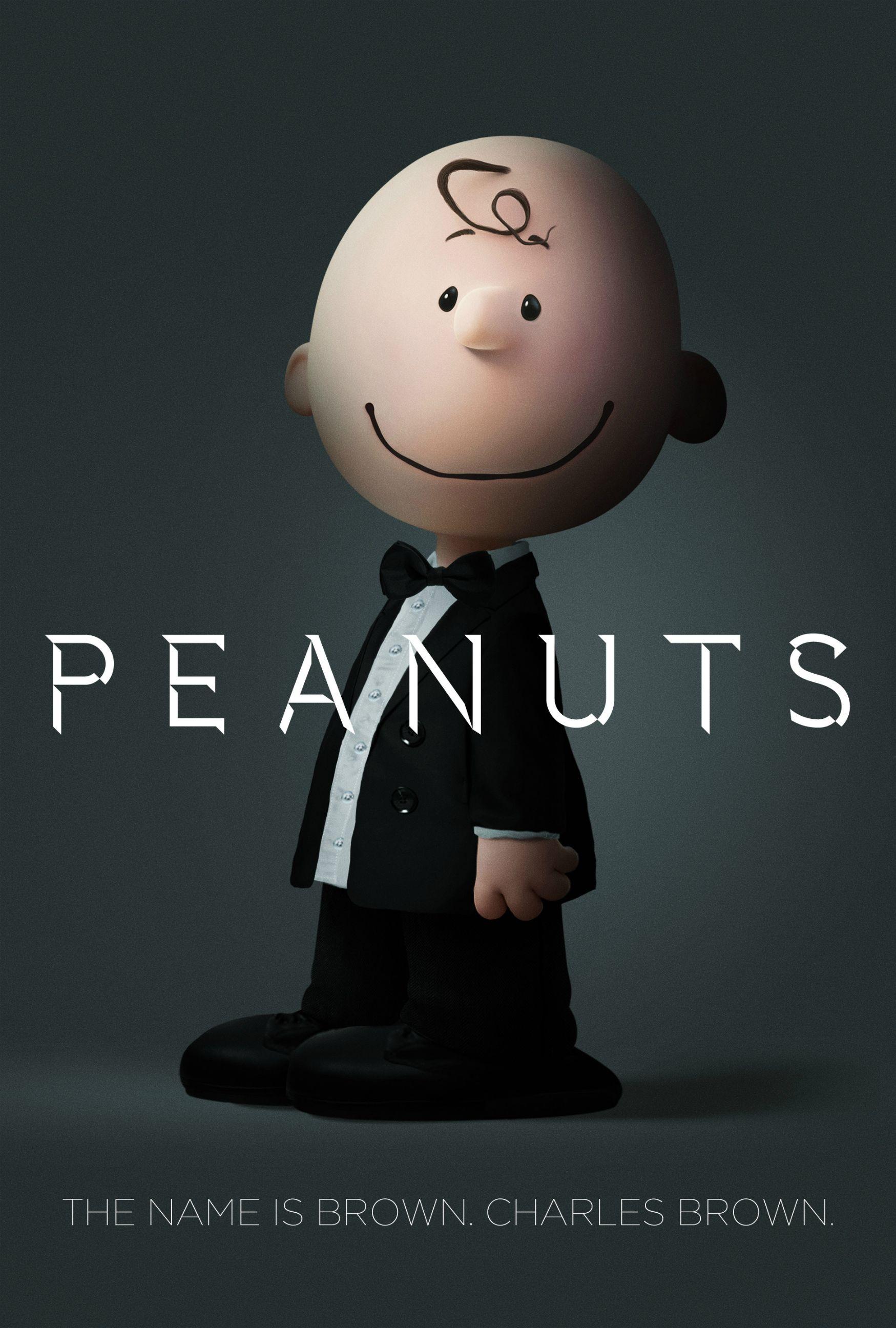 Snoopy & Friends: Charlie Brown in versione 007 nel poster parodia dei film di James Bond