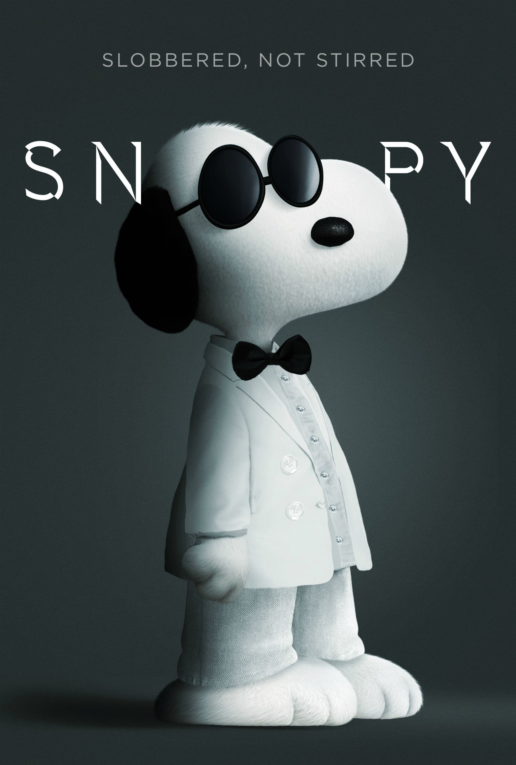 Snoopy & Friends: Snoopy versione 007 nel poster parodia dei film di James Bond