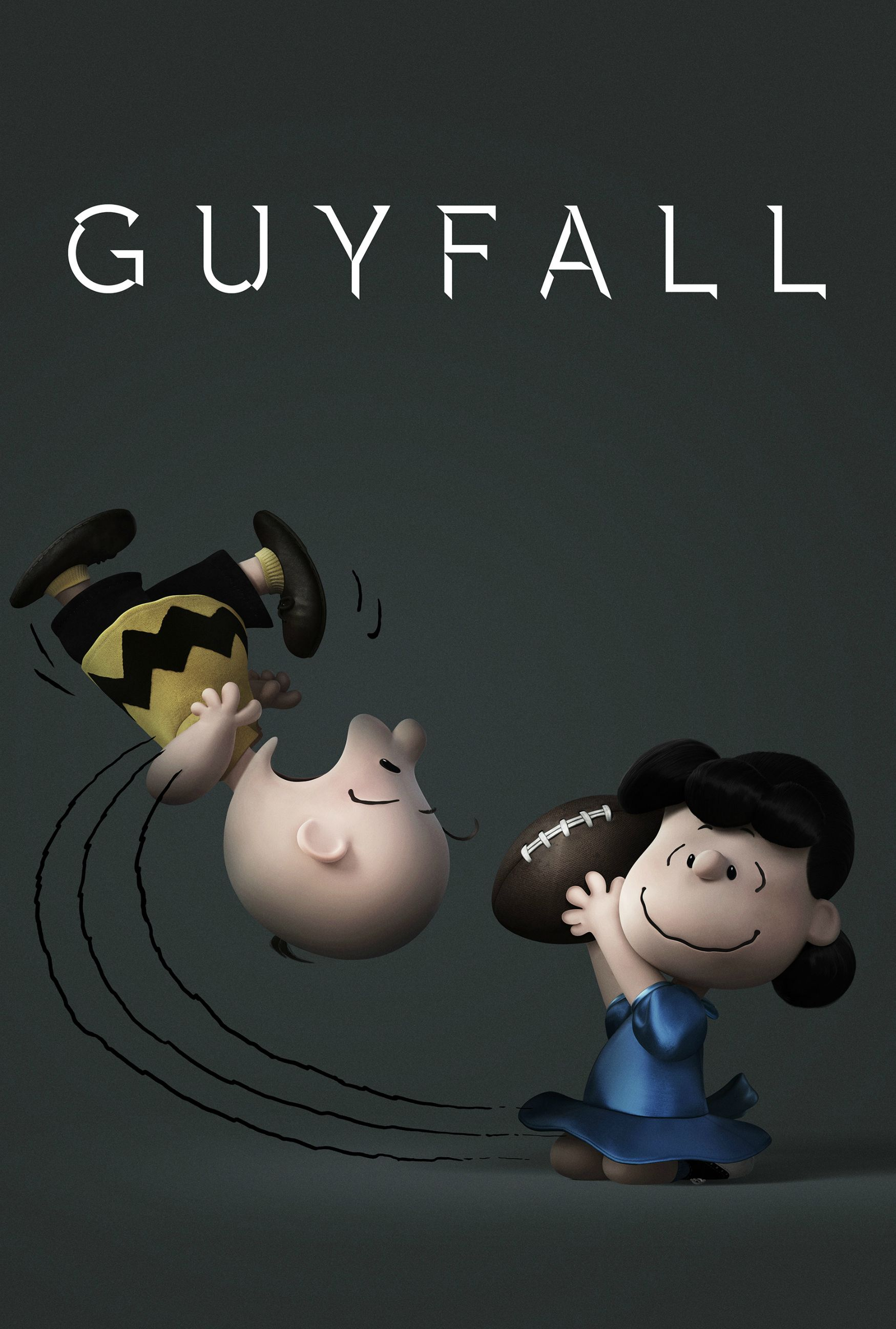 Snoopy & Friends: Charlie Brown e Lucy in un poster parodia dei film di James Bond
