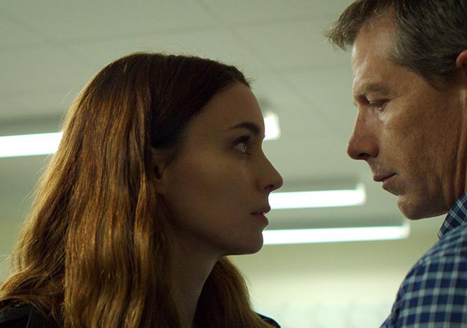 Una: Rooney Mara e Ben Mendelsohn in una foto del film