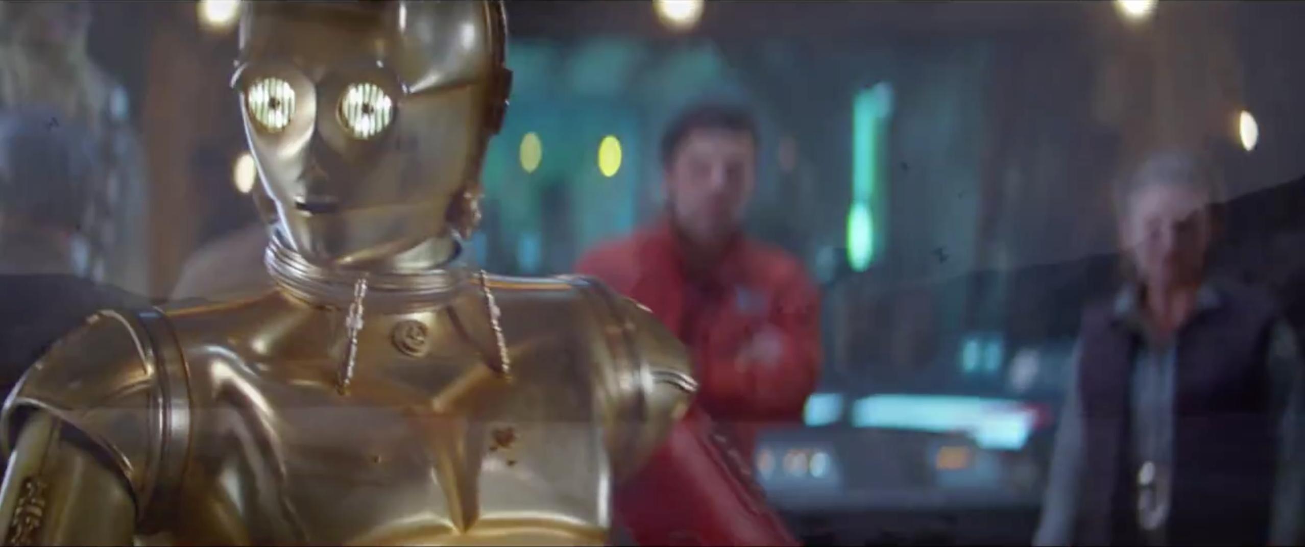 Star Wars - Il risveglio della Forza: C3-PO appare nel trailer giapponese