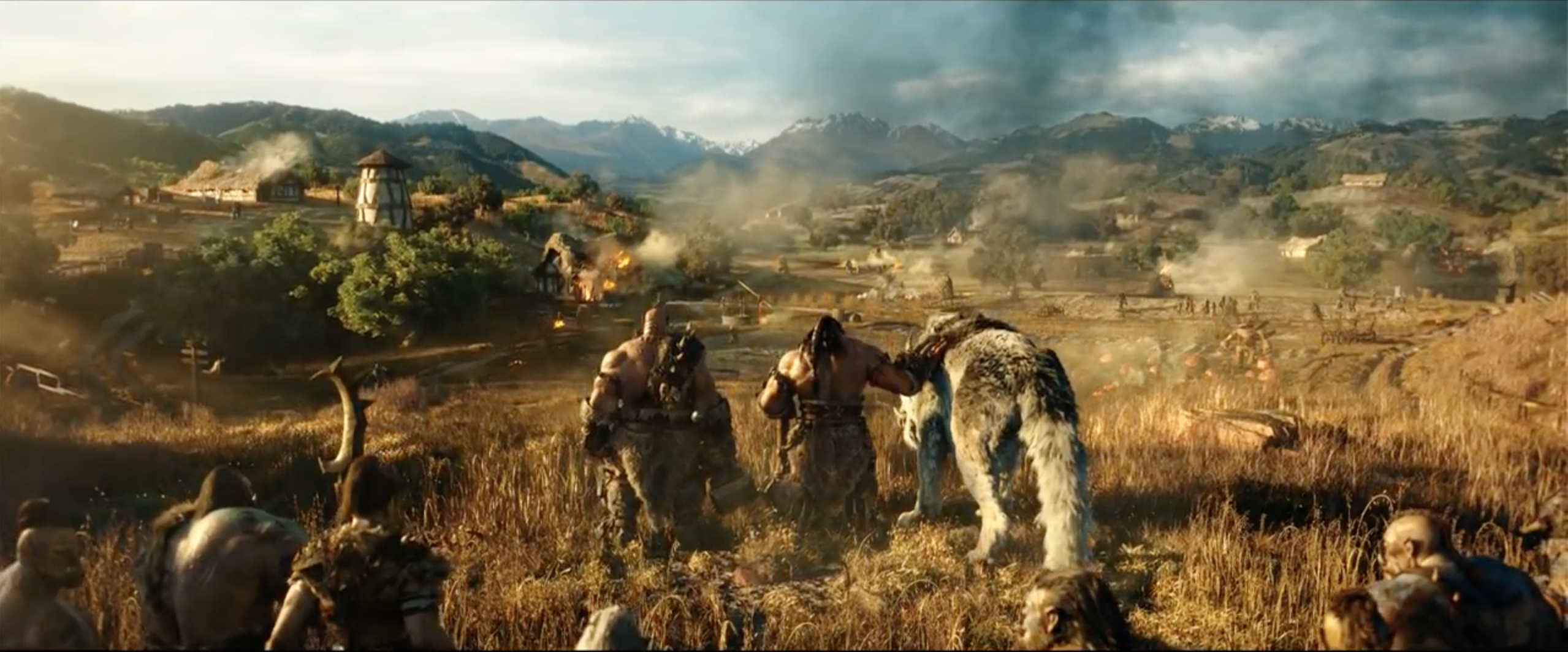 Warcraft - L'inizio: un'immagine tratta dal trailer del film
