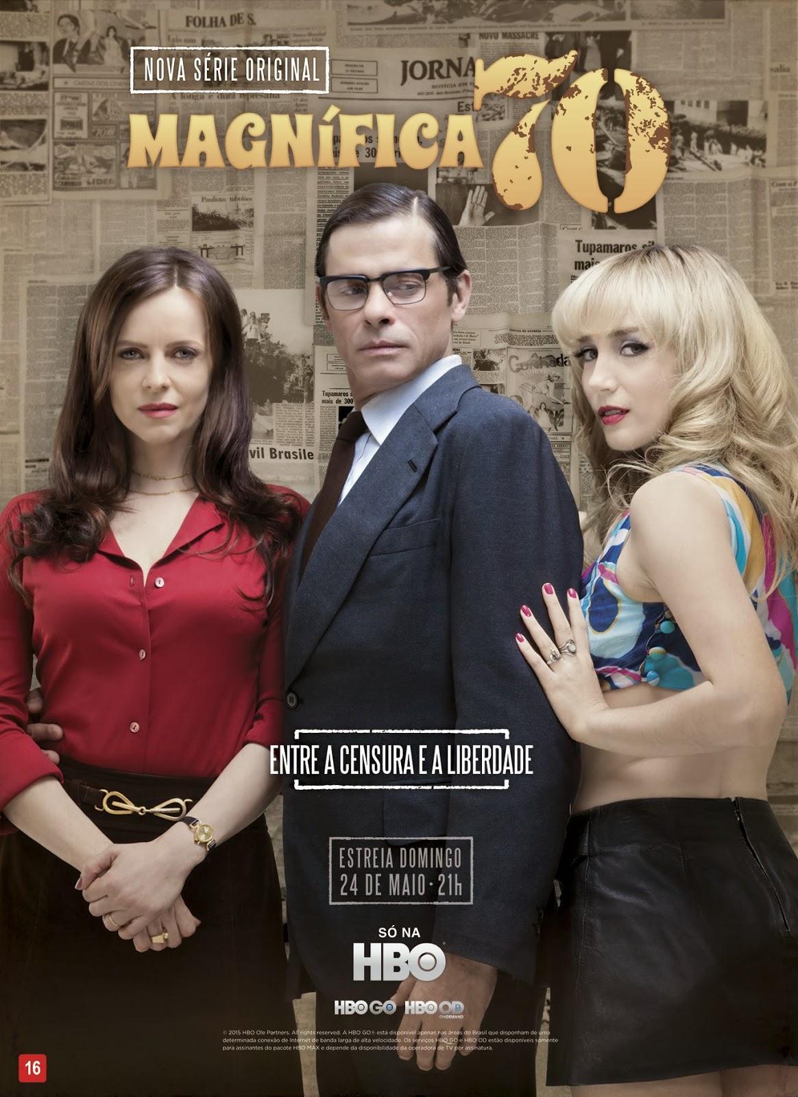 Magnifica 70: il poster della serie