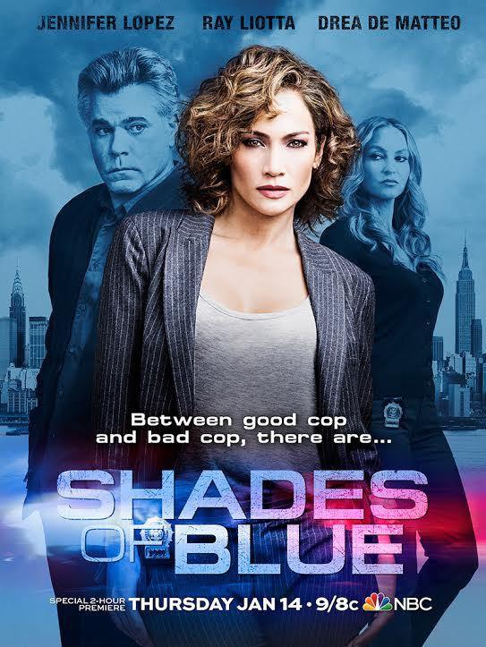 Shades of Blue: il poster della serie