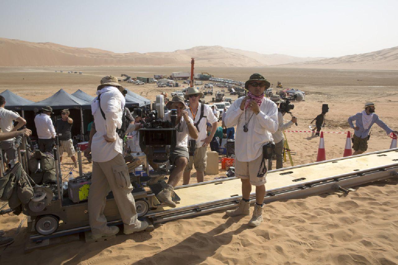 Star Wars: Il Risveglio della Forza - Una foto scattata sul set del film