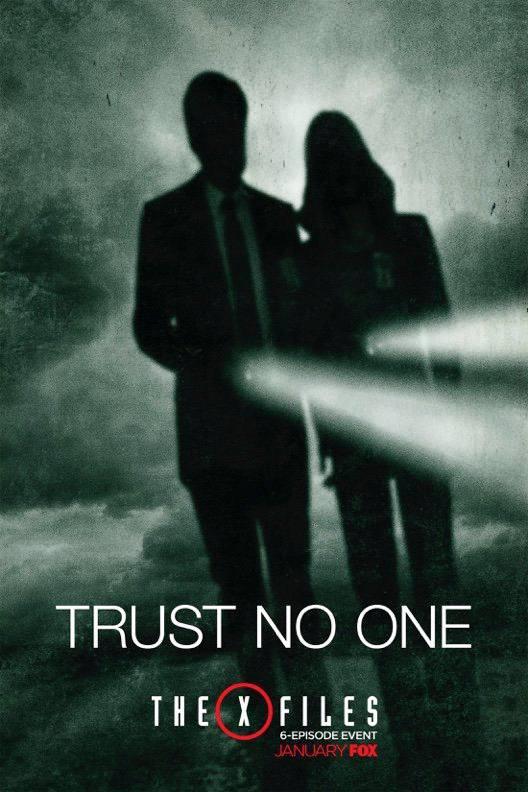 X-Files: un nuovo poster della serie revival