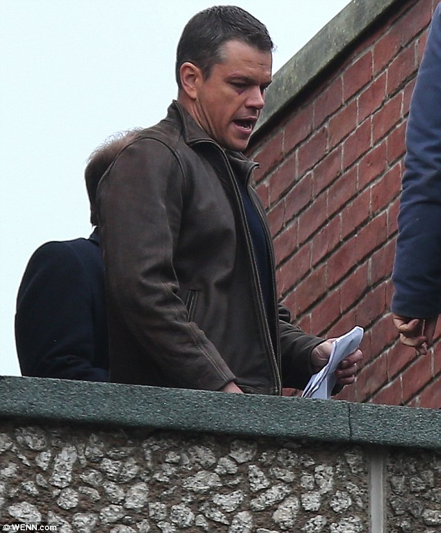 Bourne 5: Matt Damon sul set sopraelevato