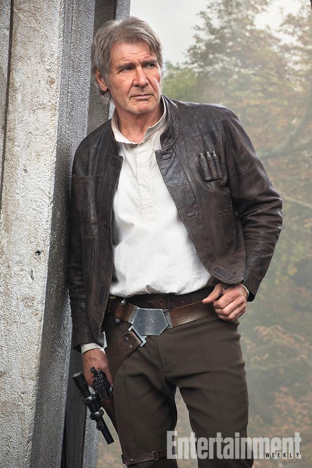 Star Wars: Il Risveglio della Forza - Una nuova foto di Harrison Ford nel ruolo di Han Solo