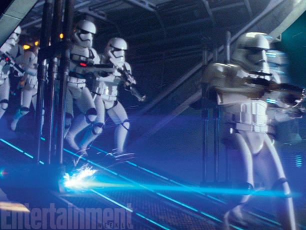 Star Wars: Il Risveglio della Forza - Gli stormtrooper in azione