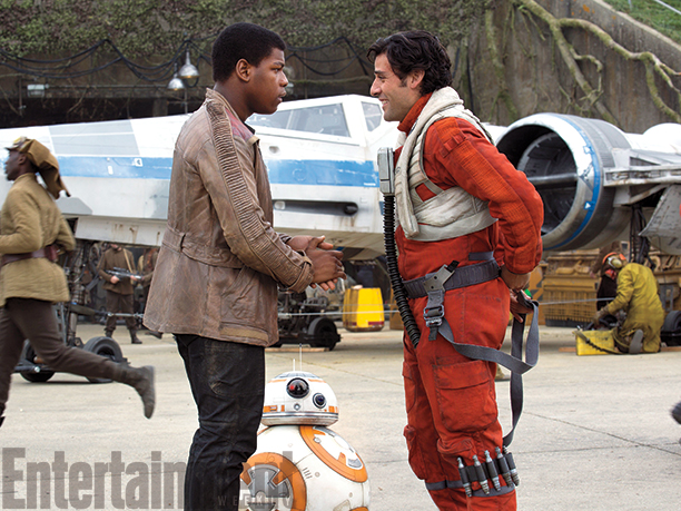 Star Wars: Il Risveglio della Forza - John Boyega e Oscar Isaac