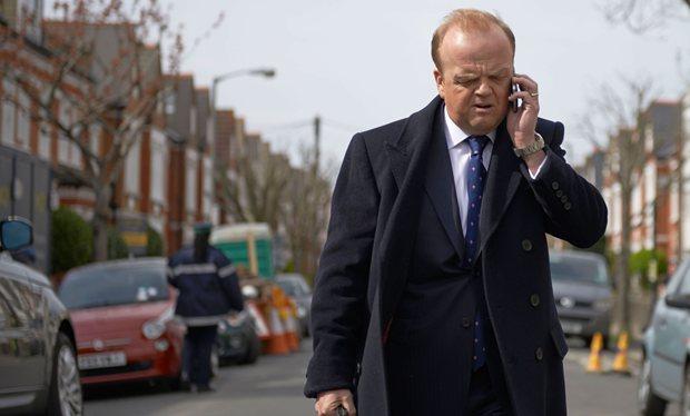 Capital: l'attore Toby Jones in un'immagine della serie della BBC