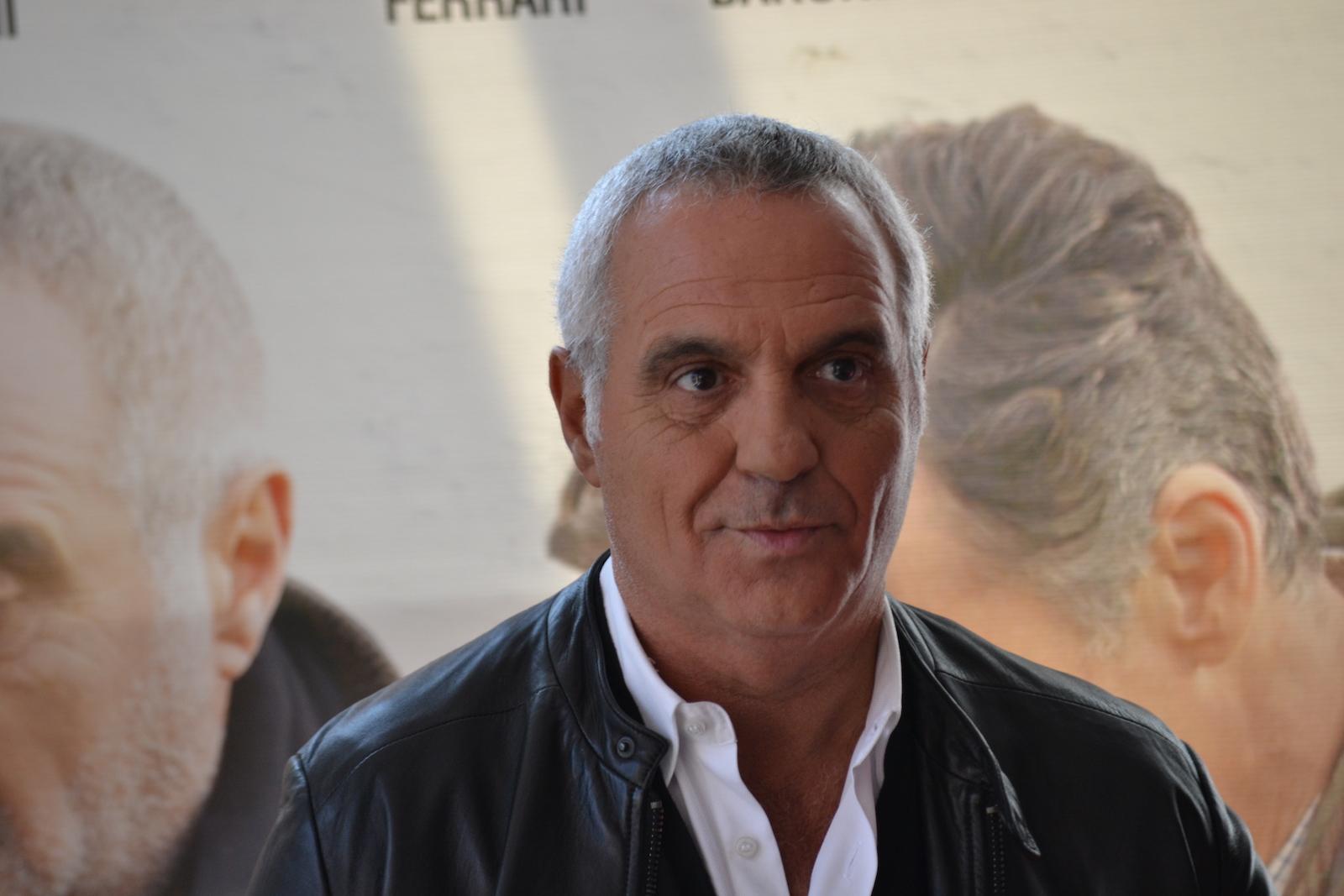 Giorgio Panariello al photocall di Uno per tutti