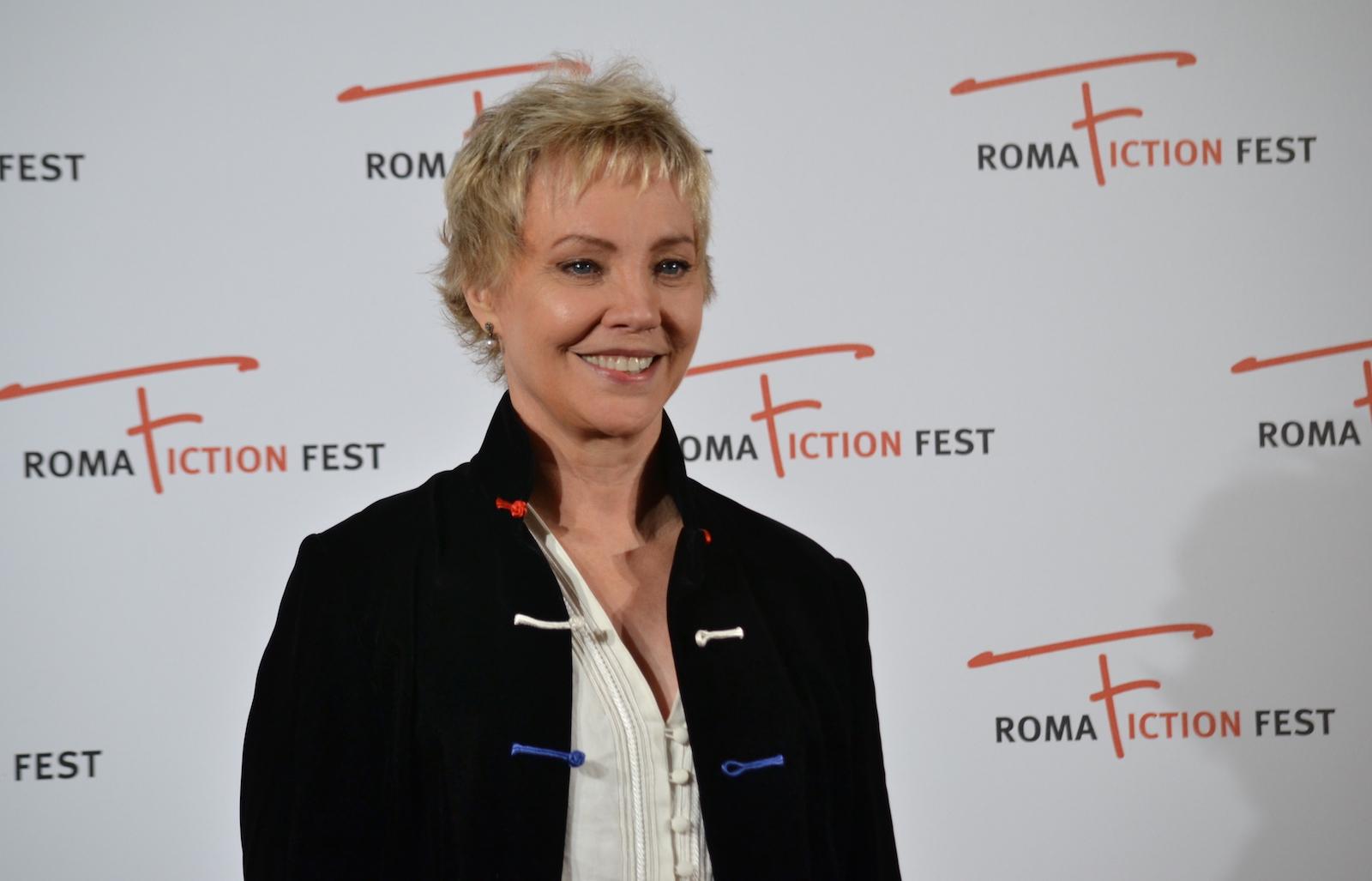 Roma Fiction Fest 2015: Carole André sorride sul red carpet di Sandokan