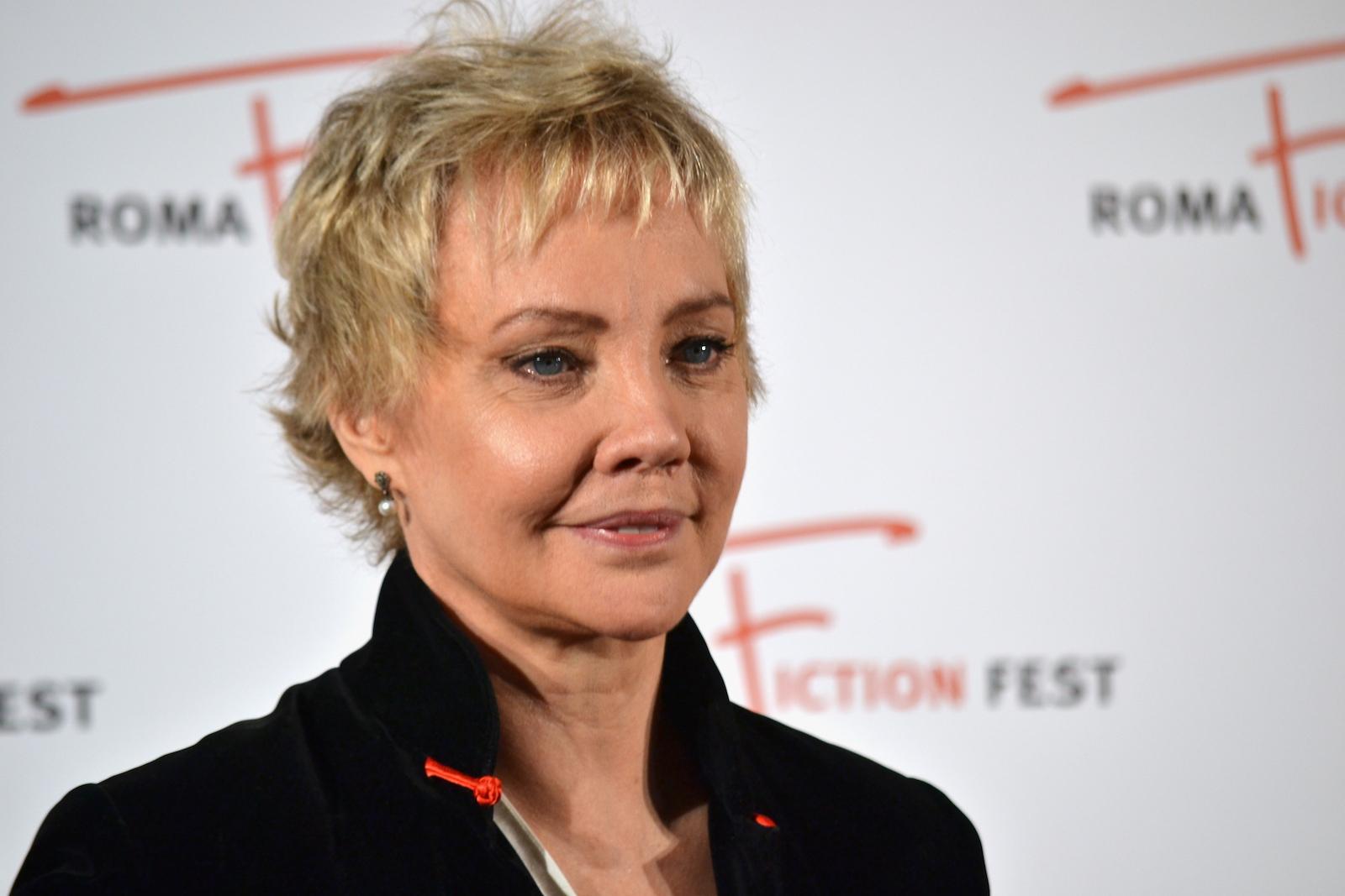 Roma Fiction Fest 2015: Carole André in un primo piano sul red carpet di Sandokan