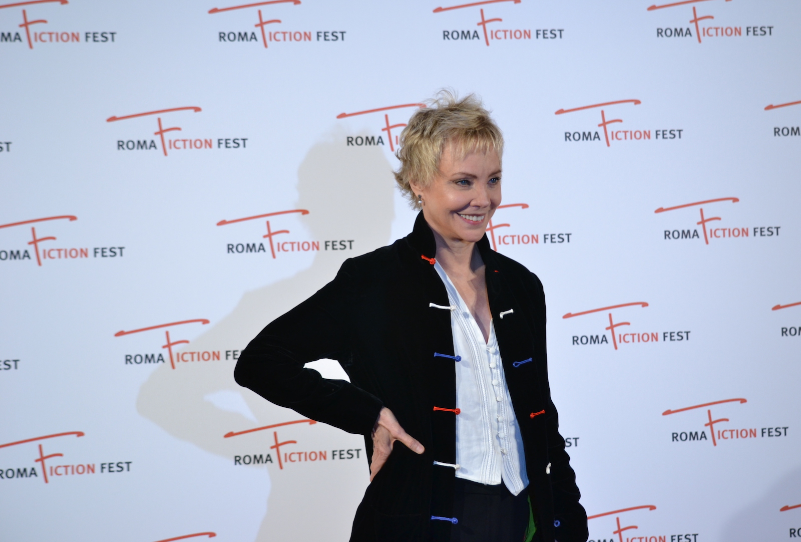 Roma Fiction Fest 2015: Carole André posa sul red carpet di Sandokan