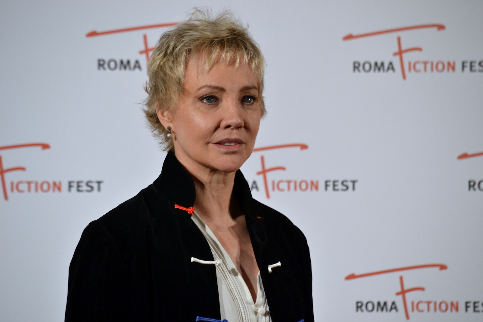 Roma Fiction Fest 2015: Carole André in uno scatto sul red carpet di Sandokan