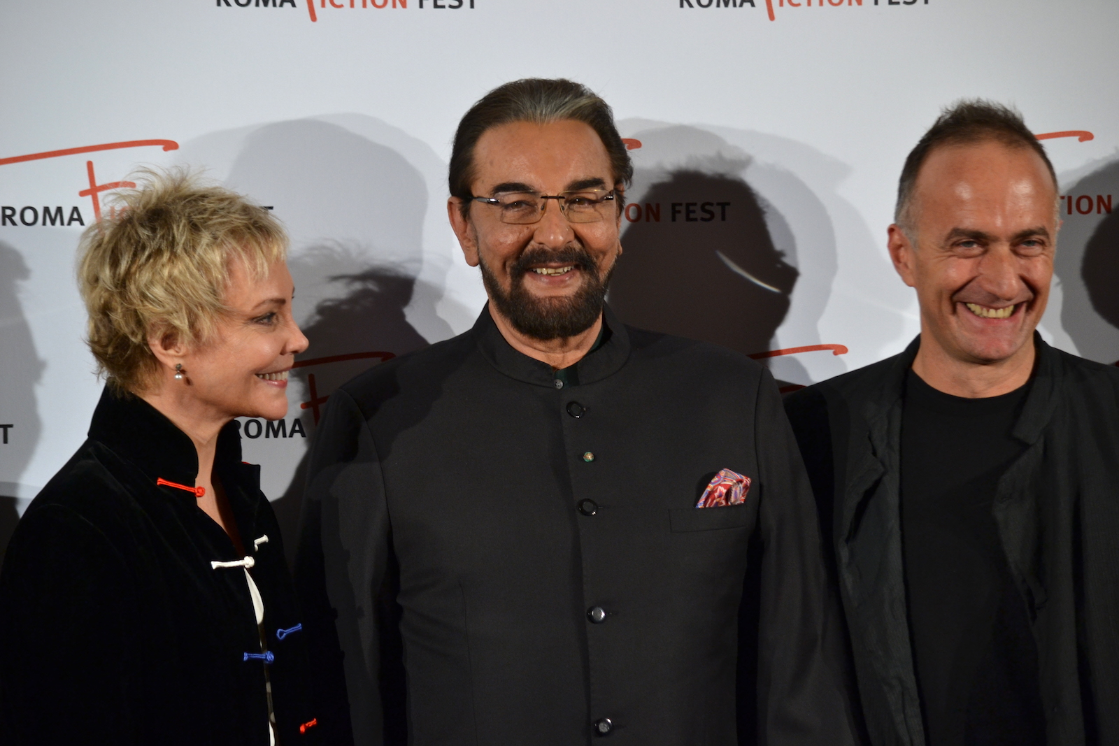 Roma Fiction Fest 2015: Kabie Bedi, Carole André e Stefano Sollima sul red carpet di Sandokan