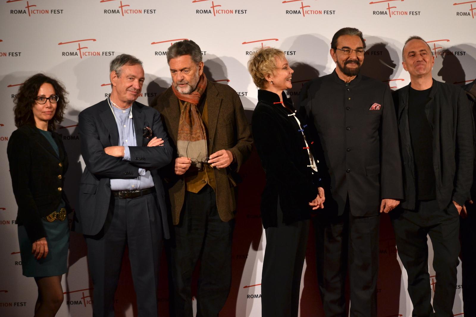Roma Fiction Fest 2015: Stefano Sollima, Samanta Sollima, Kabir Bedi, Carole André, Andrea Giordana sul red carpet di Sandokan