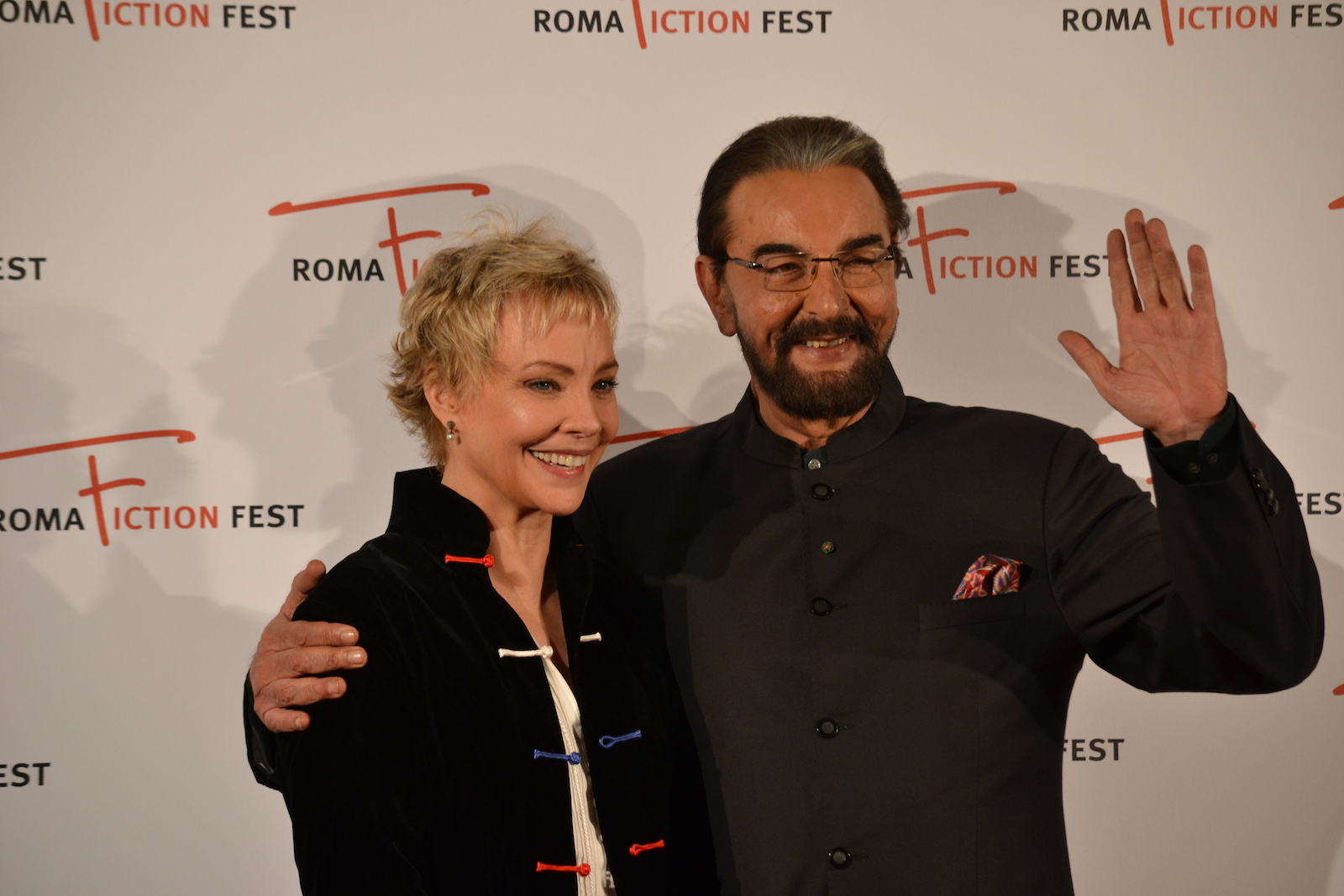 Roma Fiction Fest 2015: Kabir Bedi e Carole André sul red carpet di Sandokan
