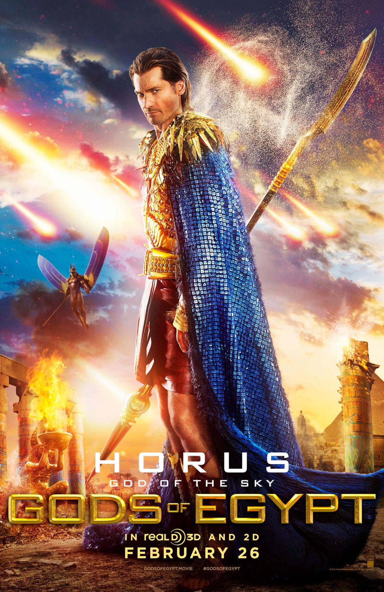 Gods of Egypt: il character poster di Horus