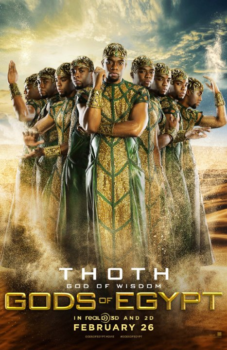 Gods of Egypt: il character poster di Thoth