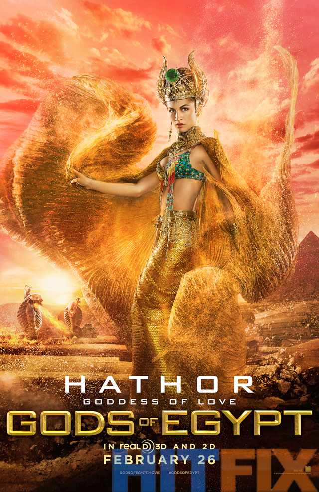 Gods of Egypt: il character poster di Hathor