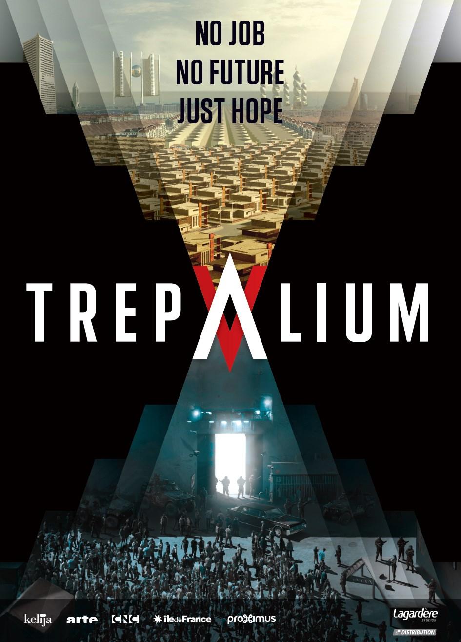Trepalium: il poster della serie