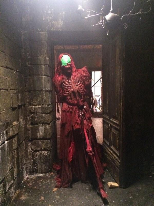 Crimson Peak - immagine dal set del film di Del Toro