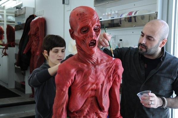 Crimson Peak - immagine dalle riprese del film