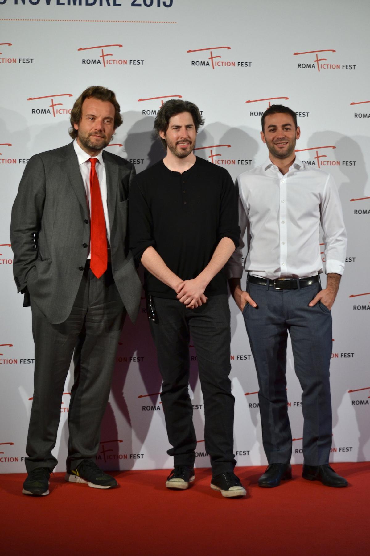 Roma Fiction Fest 2015: Marco Spagnoli, Zander Lehman e Jason Reitman al photocall prima della Masterclass & Excellence Award