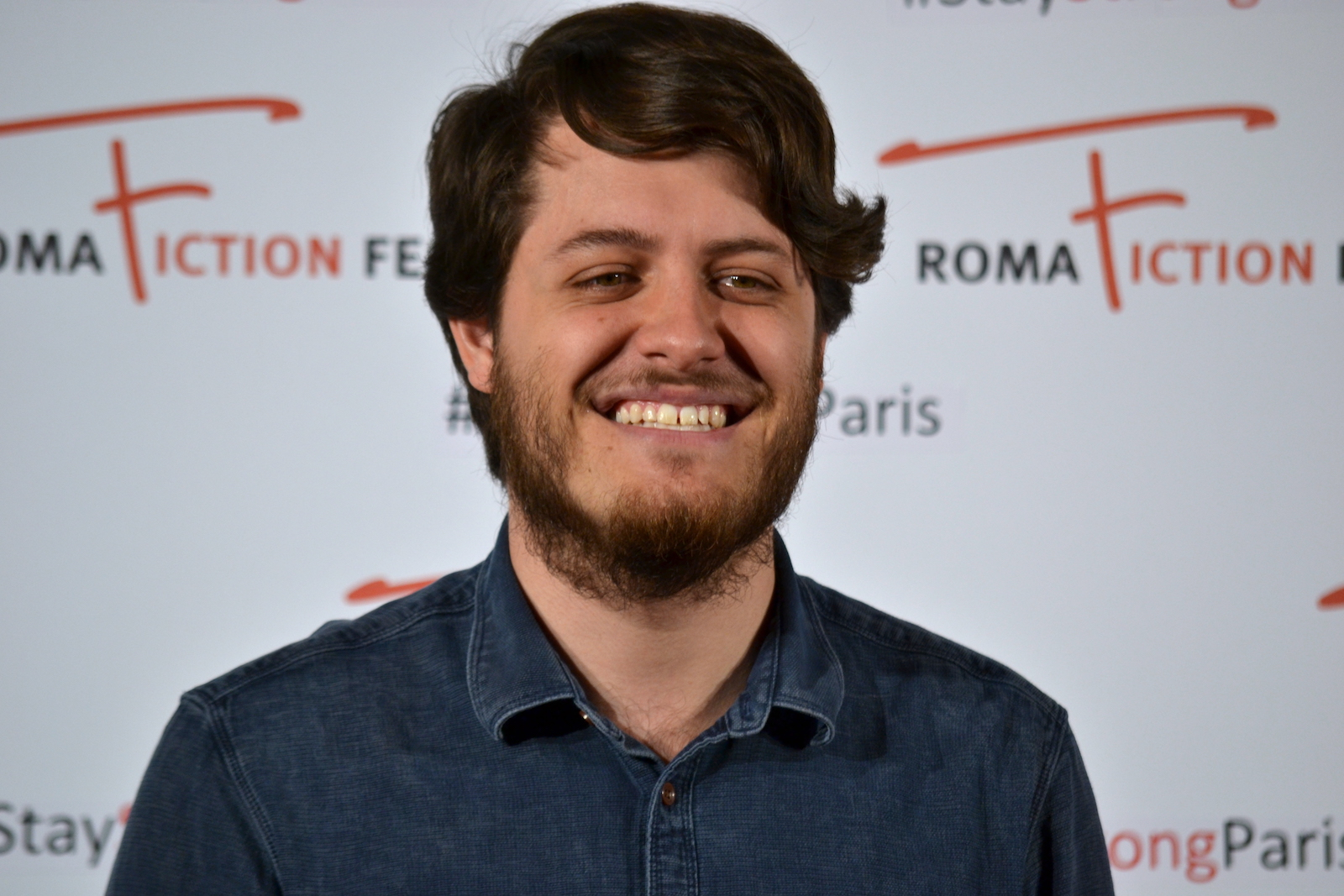 "Roma Fiction Fest 2015: Claudio Di Biagio al photocall di ""Lontana da me"""