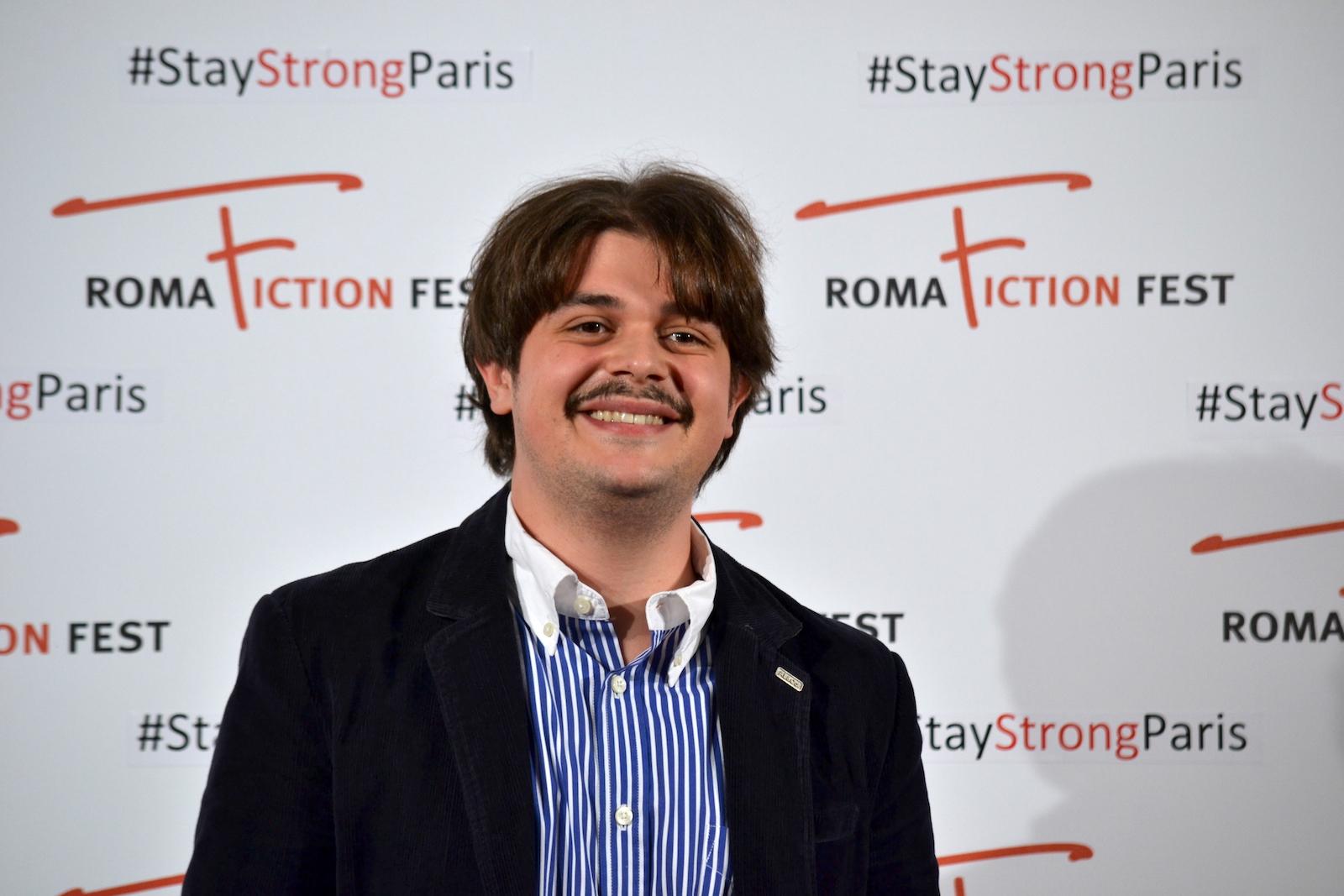 """Roma Fiction Fest 2015: Francesco Russo in uno scatto al photocall di """"Zio Gianni"""""""