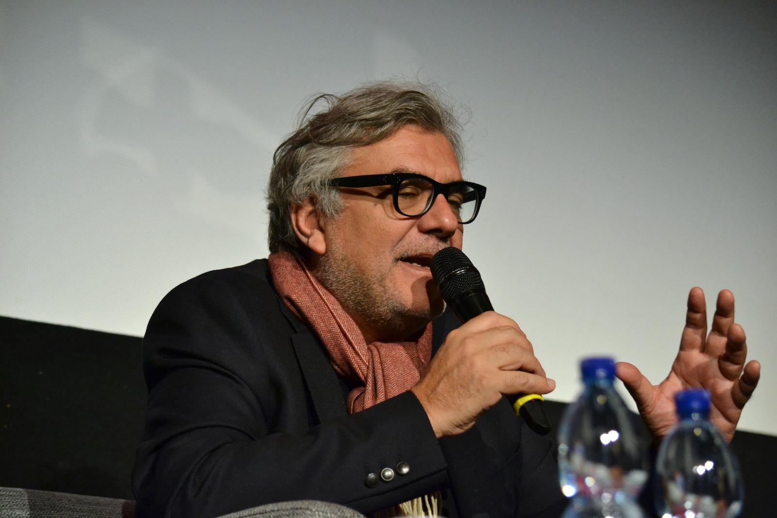 Roma Fiction Fesst 2015: Giancarlo De Cataldo alla masterclass