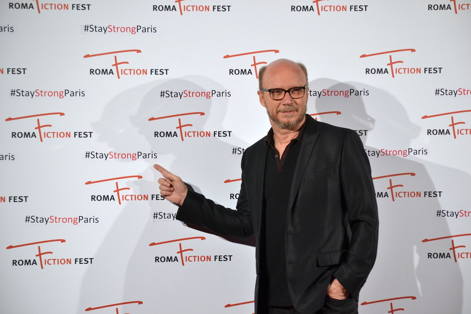 Roma Fiction Fest 2015: Paul Haggis durante il photocall precedente la masterclass
