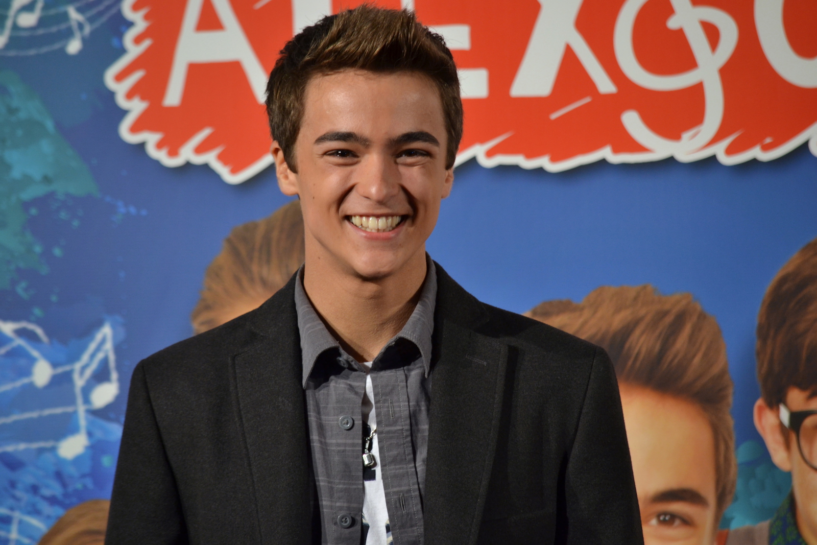 Roma Fiction Fest 2015: Leonardo Cecchi sul red carpet di Alex & Co