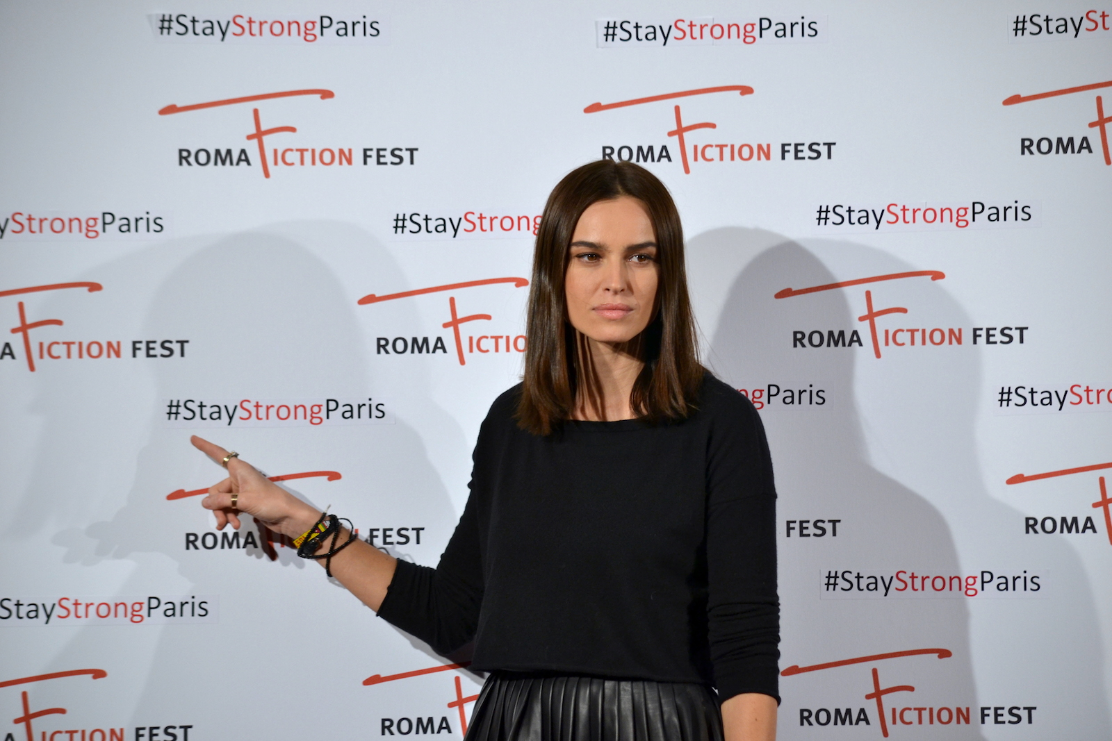Roma Fiction Fest 2015: Kasia Smutniak posa al photocall di Limbo