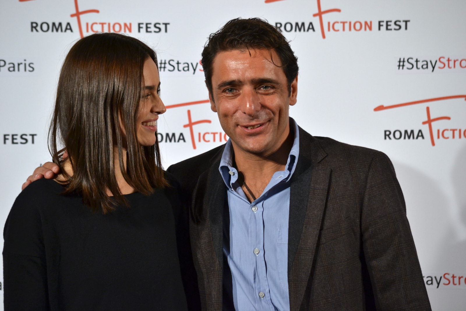 Roma Fiction Fest 2015: Kasia Smutniak e Adriano Giannini al photocall di Limbo