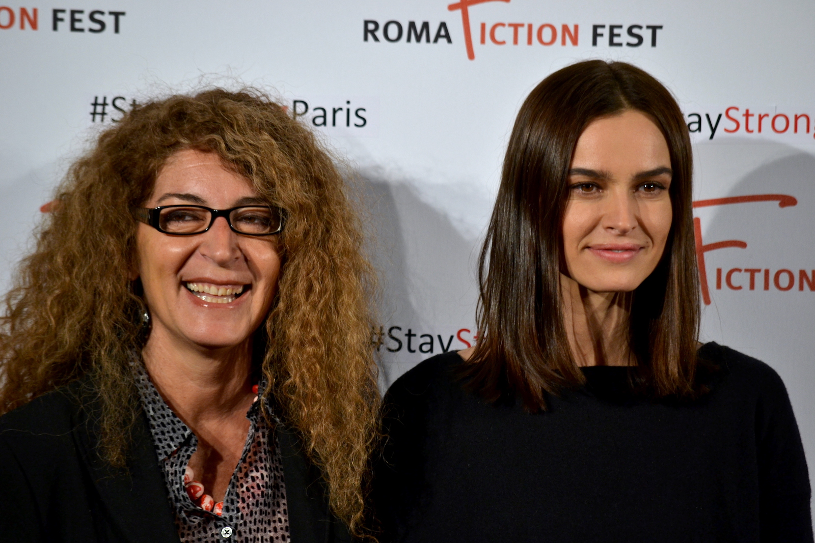 Roma Fiction Fest 2015: Melania Mazzucco e Kasia Smutniak al photocall di Limbo