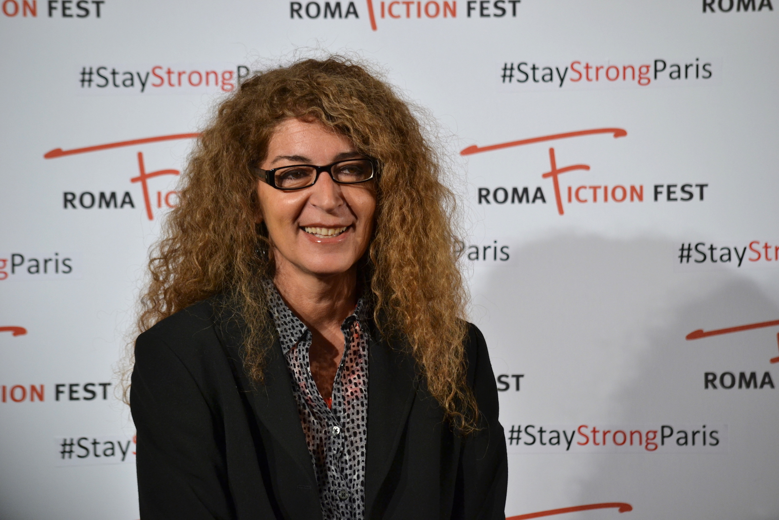Roma Fiction Fest 2015: Melania Mazzucco al photocall di Limbo