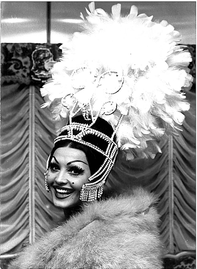 Moira Orfei, star del circo