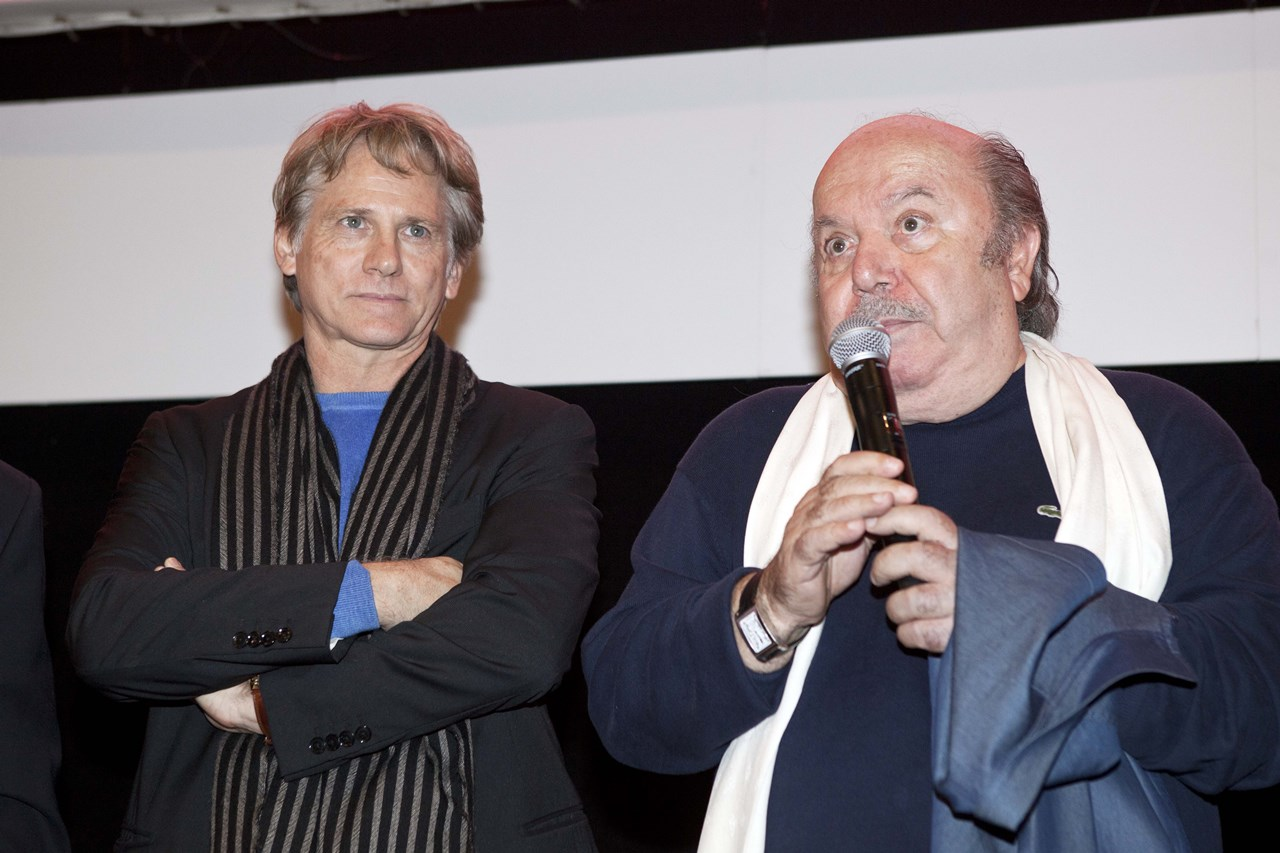 Un medico in famiglia: Giulio Scarpati e Lino Banfi durante la reunion al Roma Fiction Fest
