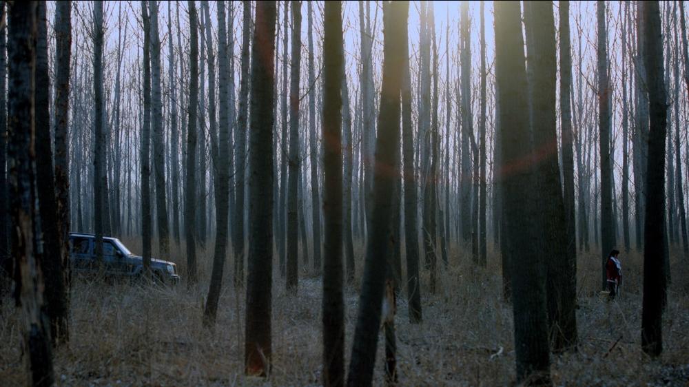 A Simple Goodbye: una scena in esterni del film