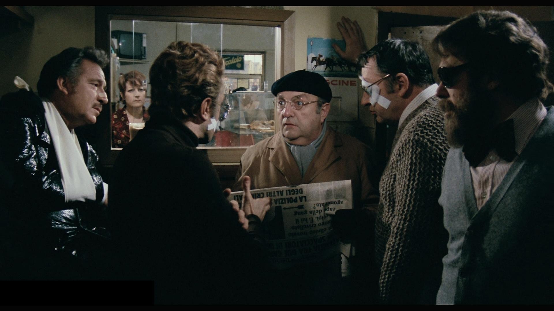 Ina scena di Amici miei di Mario Monicelli