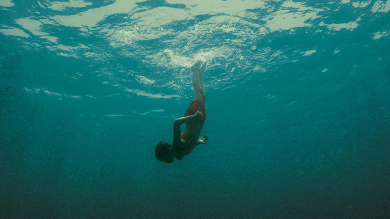 Evolution: una suggestiva immagine subacquea del film