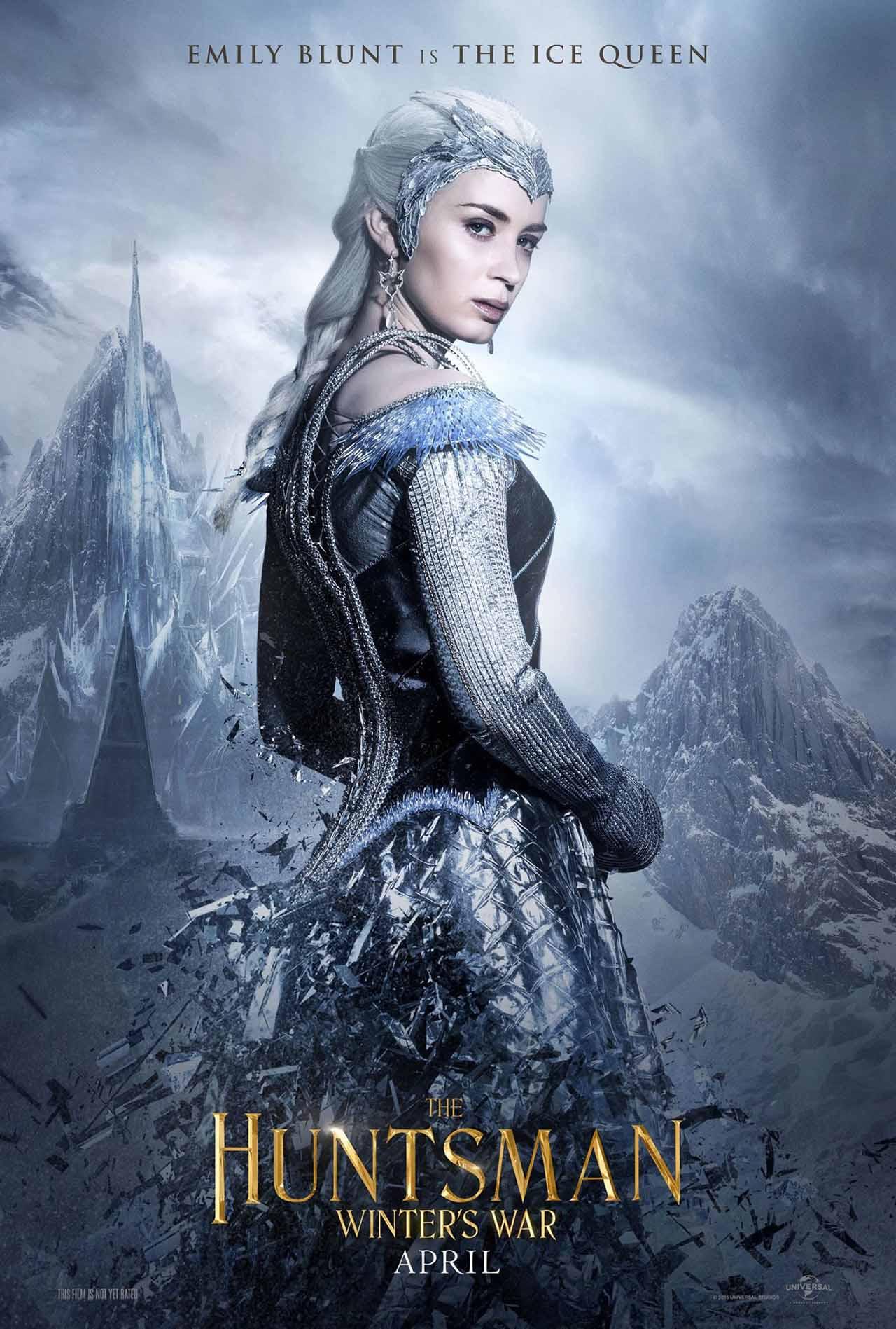 The Huntsman Winter's War: il character poster dedicato al personaggio di Emily Blunt