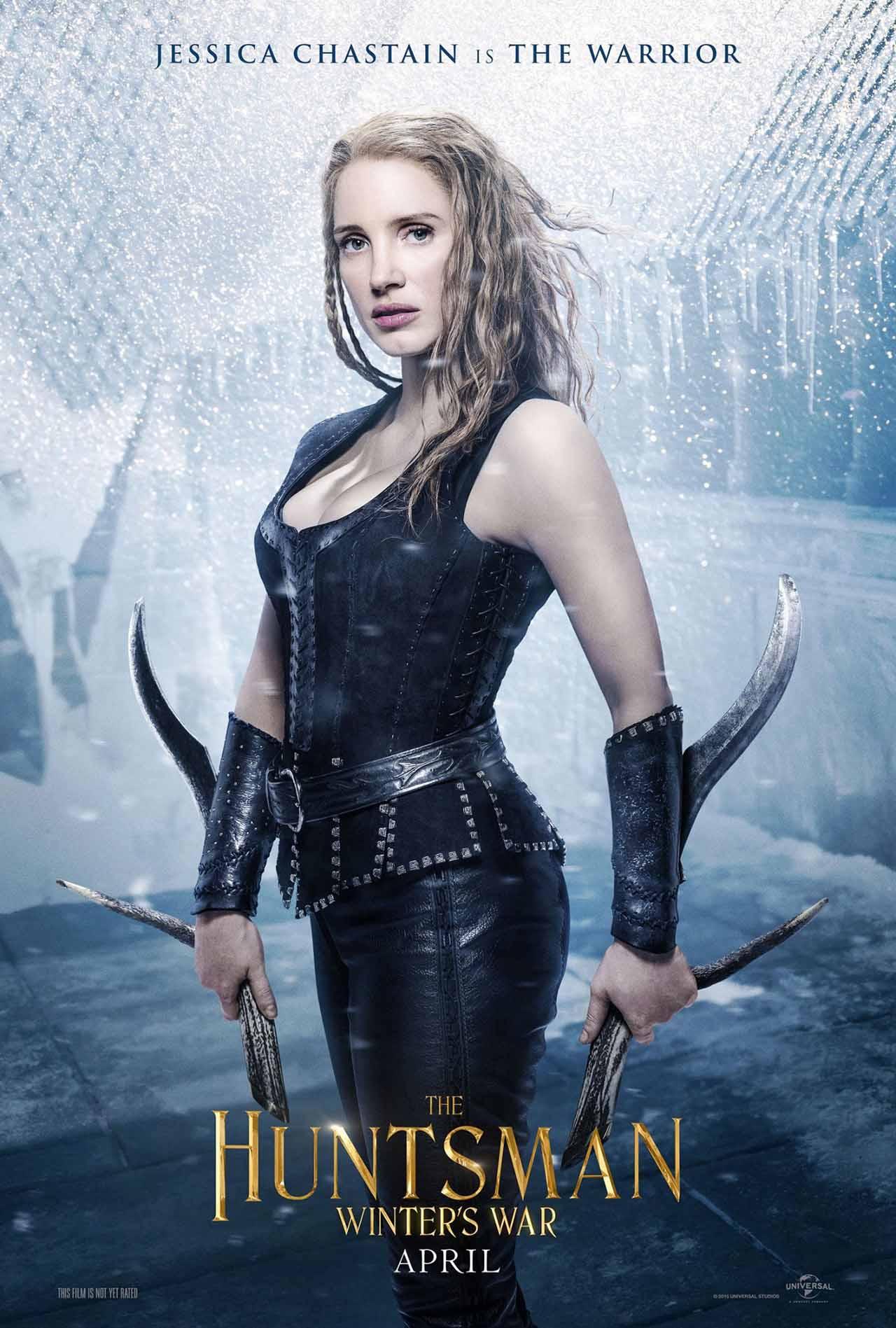 The Huntsman Winter's War: il character poster dedicato alla guerriera interpretata da Jessica Chastain