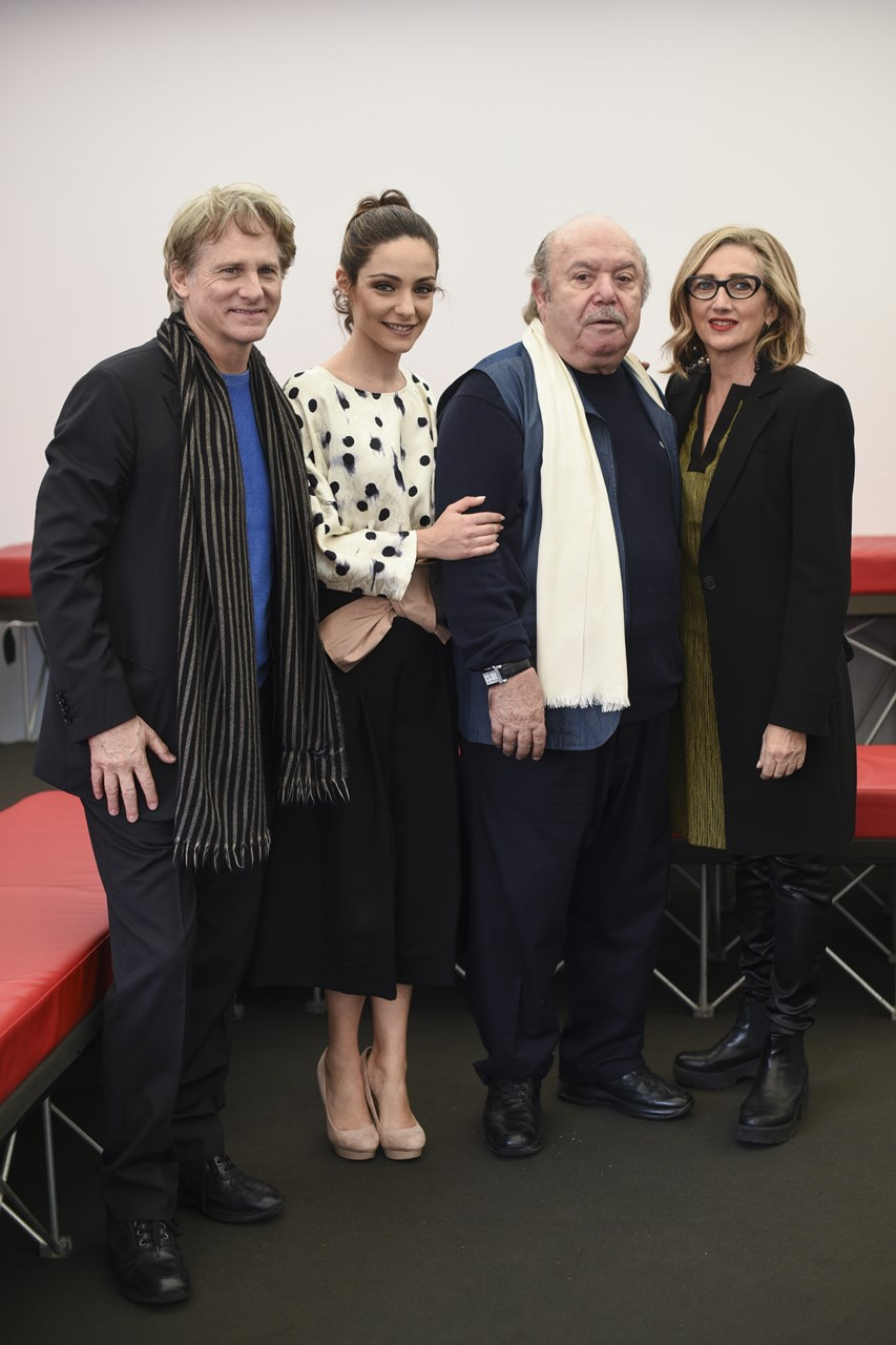 Un medico in famiglia: Giulio Scarpati, Lino Banfi, Valentina Corti e Lunetta Savino al Roma Fiction Fest