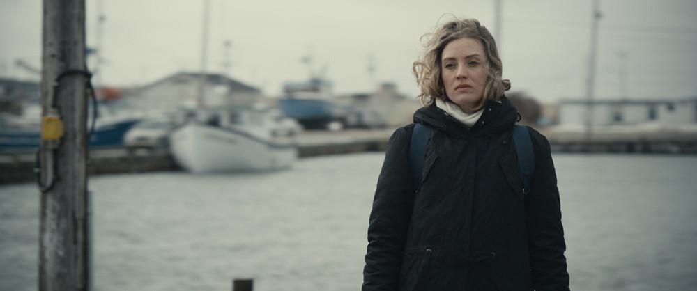 The Wolves: Evelyne Brochu in una scena del film
