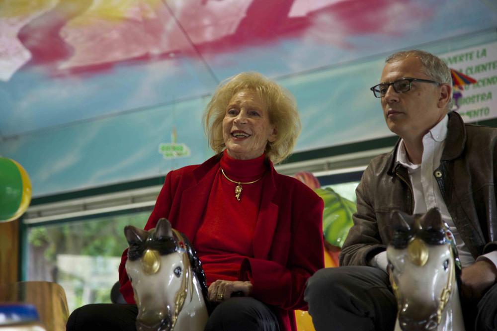 Mia madre fa l'attrice: Silvana Stefanini e Mario Balsamo in un'immagine del documentario