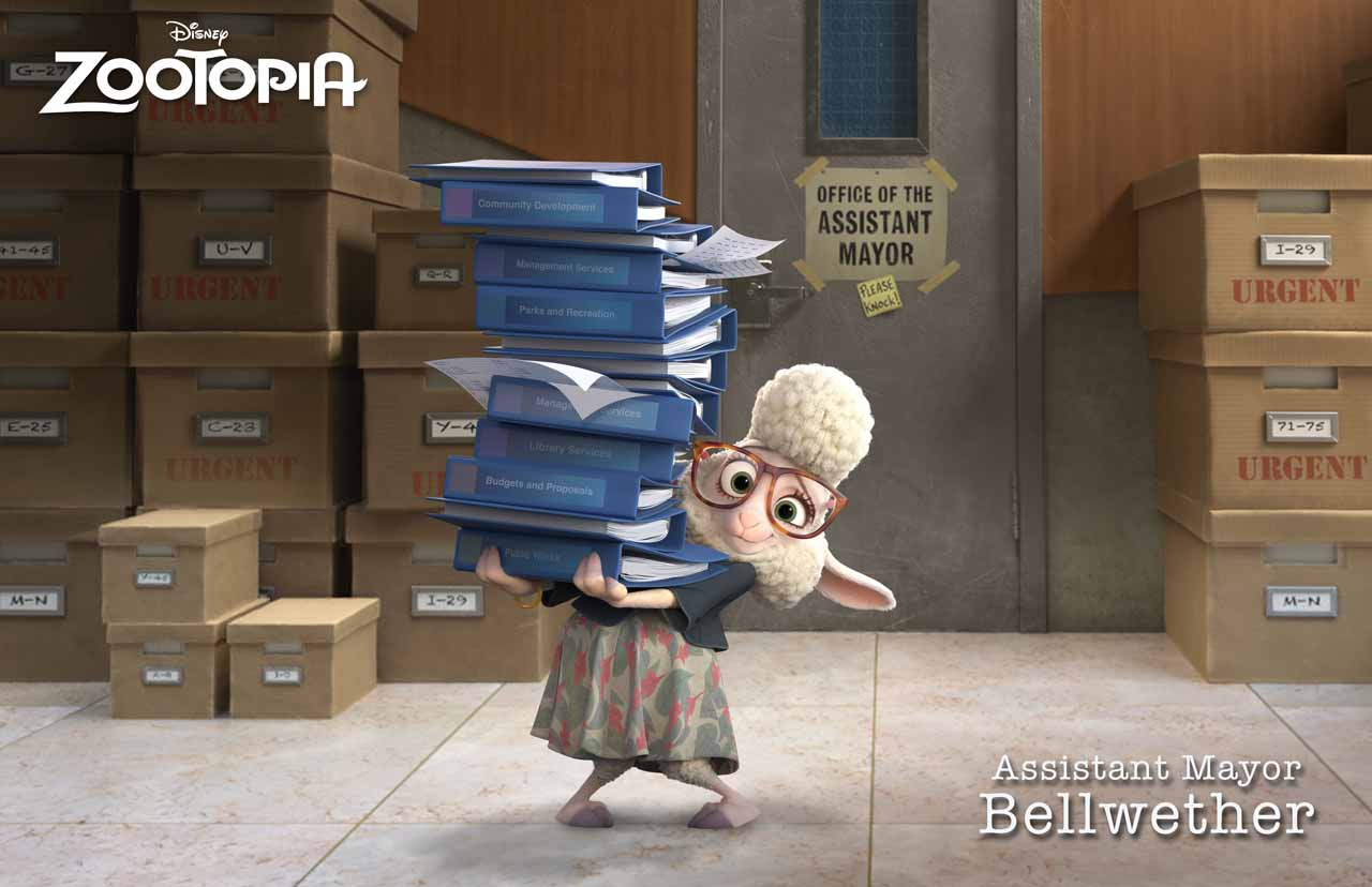 Zootropolis: Bellwether, l'assistente del sindaco